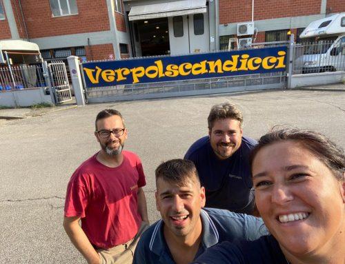 Realizzazione Nuova Insegna Verpol Scandicci